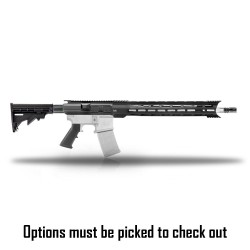 """AR-10/LR-308 18"""" """"FLUTED"""" STAINLESS Rifle Kit  - (OPTIONS AVAILABLE)"""