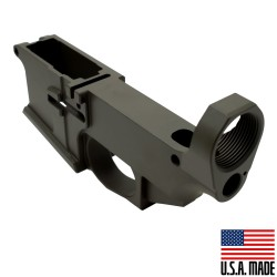 AR-15 Billet 80% Lower Receiver Cerakoted - OD (Made in USA)