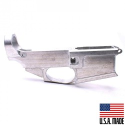 AR-15 Billet 80% Lower Receiver RAW (Made in USA)