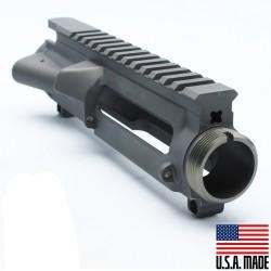 AR-15 Stripped Upper Receiver (GREY) - Made in U.S.A.