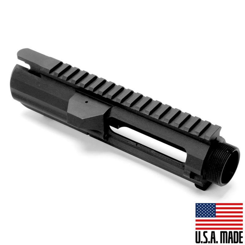 .308 Low Profile Upper Receiver Anodized Black (Made in USA)