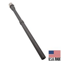 """5.56 NATO 16"""" Inch Heavy Barrel Profile 1:7 Twist Nitride Finish Non Threaded (Made in USA)"""