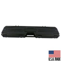 "42"" Hard Rifle Case with Convoluted Foam -Black (Made in USA)"