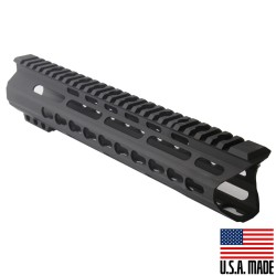 "AR-15 10"" Custom Made In USA  Slim Keymod Handguard - C Cut (MADE IN USA)"