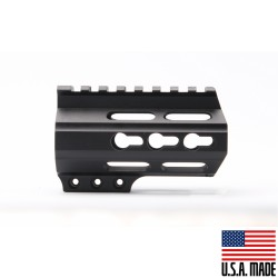 "AR-15 3.75"" Super Slim Light Keymod Free Float Handguard - Black  (MADE IN USA)"
