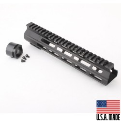 "AR-15 10"" M-LOK Super Slim Light Free Float Handguard (MADE IN USA)"
