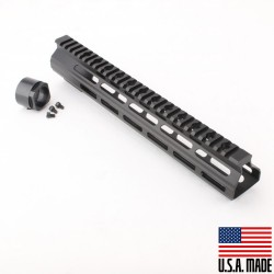"AR-15 12"" M-LOK Super Slim Light Free Float Handguard (MADE IN USA)"