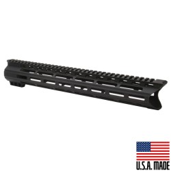 "AR-15 15"" M-Lok Super Slim Light Free Float Handguard  w/ C Cut (MADE IN USA)"