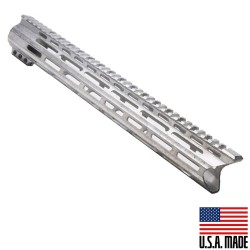 "AR-15 MLOK 15"" Free Float Handguard with ""C""Cut -Raw (Made in USA)"