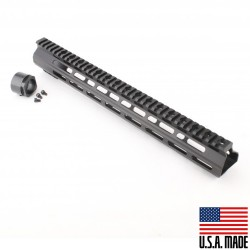 "AR-15 15"" M-Lok Super Slim Light Free Float Handguard  (MADE IN USA)"