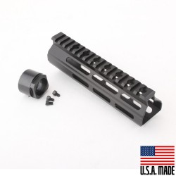 "AR-15 7"" M-Lok Super Slim Light Free Float Handguard  (MADE IN USA)"