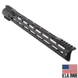 "AR-15 MLOK 15"" Free Float Handguard with ""C"" Hybrid Cut  (Made In USA)"