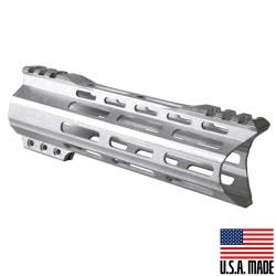 "AR-15 MLOK 7"" Free Float Handguard with ""C"" Hybrid Cut-Raw (Made In USA)"