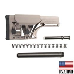 AR-15 MBA-1 Luth-AR Rifle Buttstock Flat Dark Earth (USA) w/ Buffer Tube Kit
