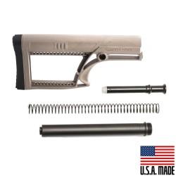 AR-15 MBA-2 Luth-AR Rifle Buttstock Flat Dark Earth (USA) w/ Buffer Tube Kit