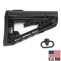 Rogers Super-Stoc Deluxe Buttstock w/QD Sling Swivel (Made in USA)