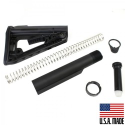 Mil-Spec Buffer Tube Assembly w/ Rogers Super-Stoc Deluxe for AR-10, .308