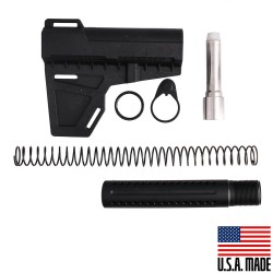 AR-9MM Shockwave Blade (USA) with Custom Pistol Buffer Tube Kit