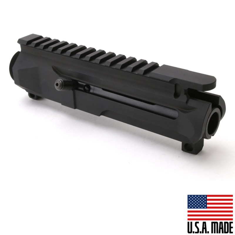 AR-15 Left Side Charging Billet Upper Receiver & BCG (Made in the USA)