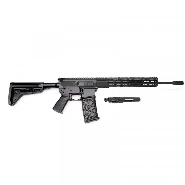 AR-15 Rifle Build Kit with Complete Upper Build with Magpul MOE SL CARB Stock, Magpul Grip and Lower Parts Kit- Free Magpul Magazine
