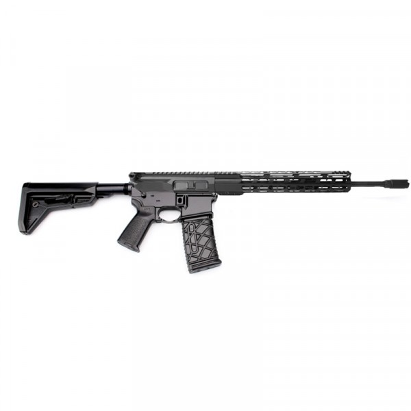 "AR15 16"" RIFLE BUILD KIT W/12"" HYBRID HANDGUARD 80% LOWER BCG LPK MAGPUL GRIP & STOCK (ASSEMBLED UPPER)"
