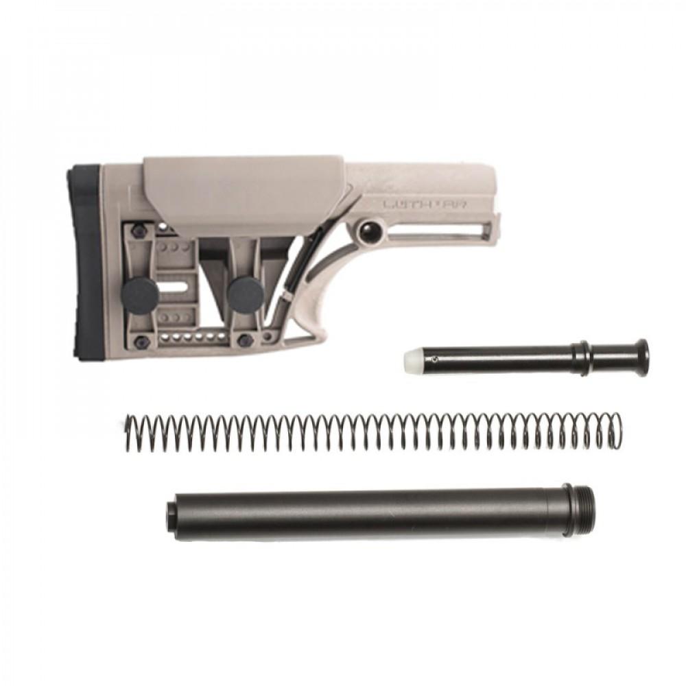 AR-10 MBA-1 Luth-AR Rifle Buttstock Buffer Tube Kit for AR