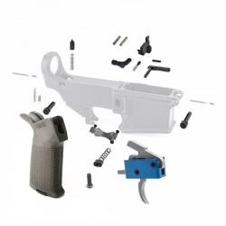 Lower Parts Kit w/ Magpul Grip & Trigger Guard (DROPIN-TRIG)