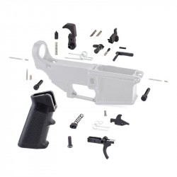 308 Lower Parts Kit w/ Standard Grip