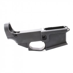AR-15 Billet 80% Lower Receiver Black Anodized