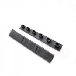 M-LOK and KeyMod Rails Protective Rubber Cover -Black
