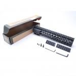"AR-15 Keymod 10"" Super Slim Light Keymod Free Float Handguard with 2""+3"" Keymod Rails (Package)"