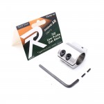 .750 Stainless Low Profile Steel Gas Block with CLAMP-ON (Packaged)