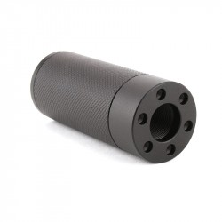 "308 Thread 3"" Muzzle Brake Fake Can Mock -Over Barrel Exp.Thread"