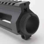 AR-15 Billet Stripped Upper Receiver (Made in USA) Cerakote - Sniper Grey