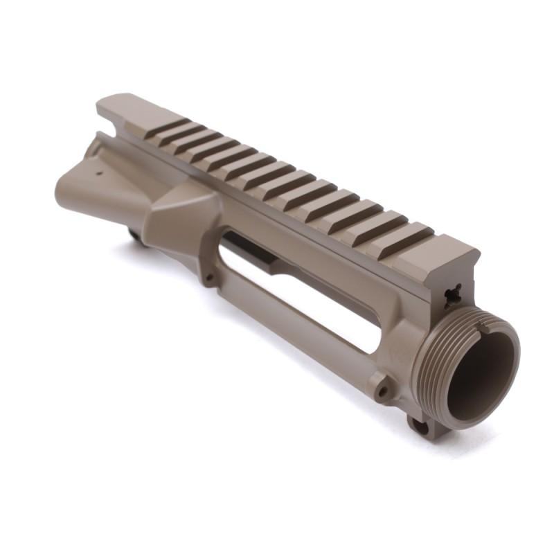 AR-15 Stripped Upper Receiver FDE (CERAKOTE COATING) - Made in U.S.A