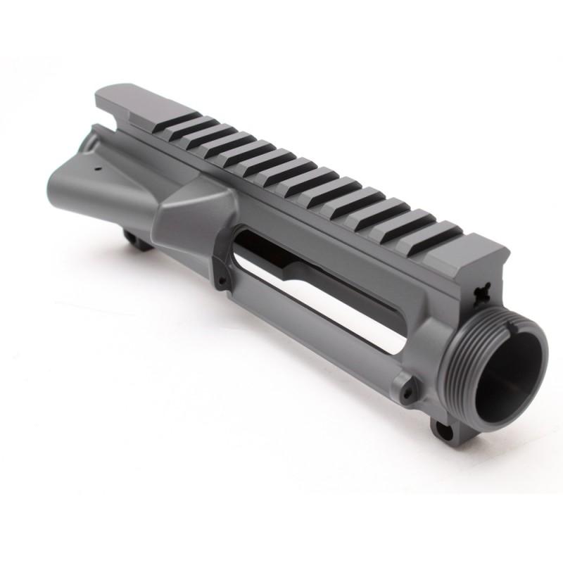 AR-15 Stripped Upper Receiver SNIPER GREY (CERAKOTE COATING) - Made in U.S.A