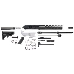 "AR10 18"" RIFLE BUILD KIT W/ 12"" KEYMOD HANDGUARD - (OPTIONS AVAILABLE)"