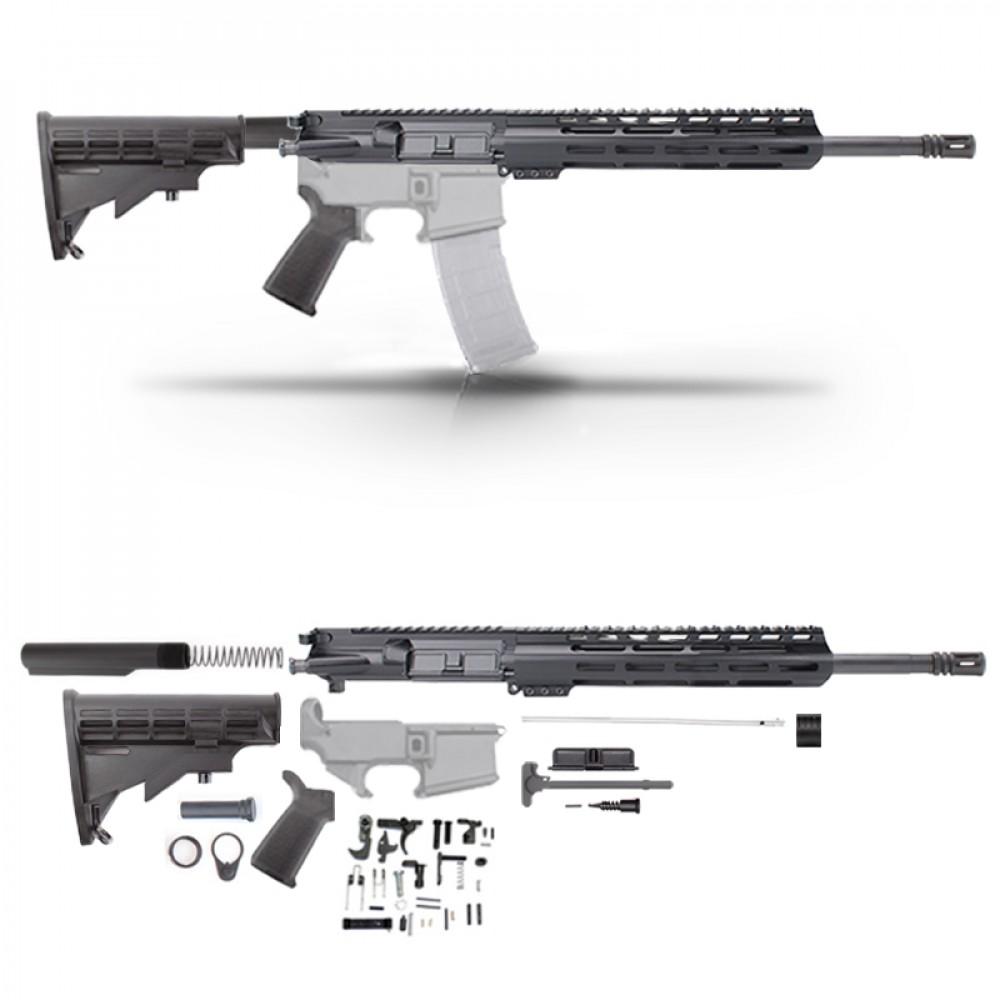 "AR15 16"" RIFLE BUILD KIT W/15"" M-LOK HANDGUARD"