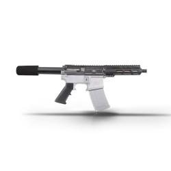 "AR15 7.5"" 9mm Pistol  Kit - 7"" M-Lok Super Slim Light Handguard"