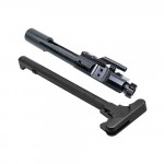 AR-15 Bolt Carrier Group - Black Nitride w/ AR-15 Charging Handle Assembly