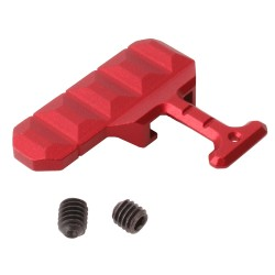 AR-15 Extended Bolt Catch Release - Red