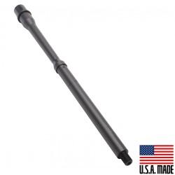 "5.56 NATO 16"" Mid Length Barrel 1:7 Twist Nitride Finish Goverment Profile(Socom) (Made in USA)"
