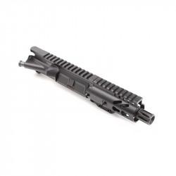 "AR-9MM 4.5"" PISTOL LENGTH 1:10 TWIST W/ 4"" SUPER SLIM KEYMOD HANDGUARD - UPPER ASSEMBLY"