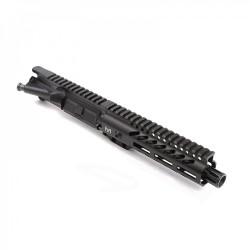 "AR-9mm 7.5"" PISTOL LENGTH 1:10 TWIST W/ 7"" SUPER SLIM M-LOK HANDGUARD - UPPER ASSEMBLY"