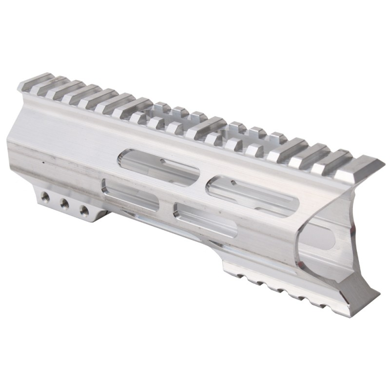 "AR-15 M-Lok 7"" Super Slim Light Free Float Handguard ""C"" Cut - RAW (Made In USA)"
