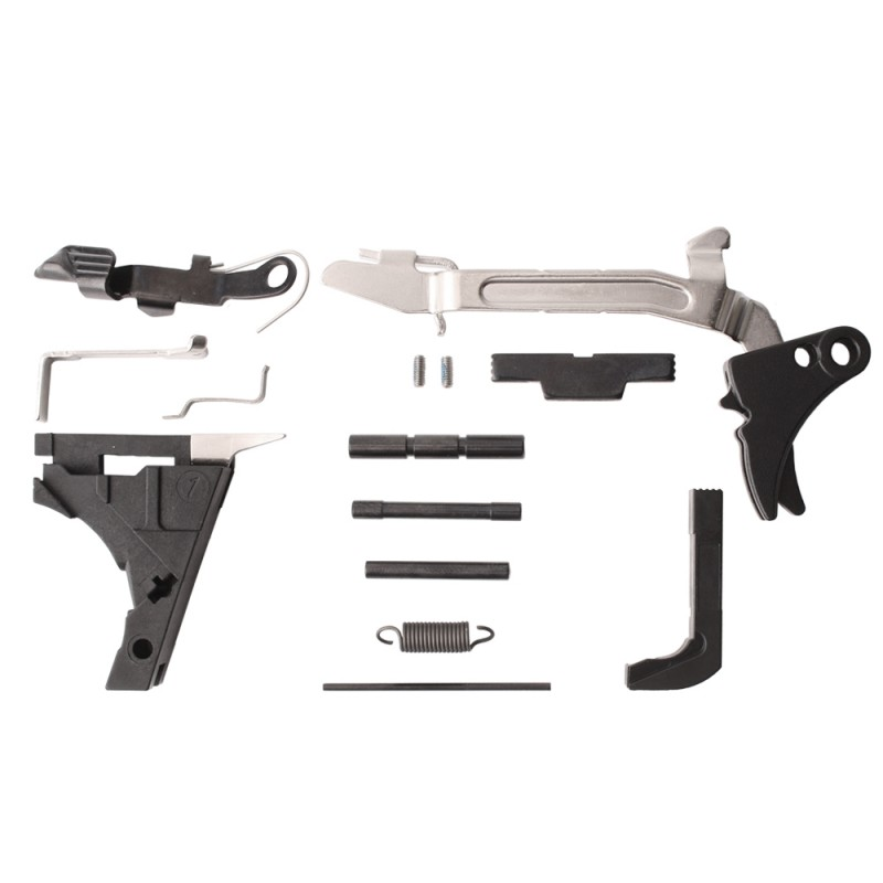 Glock 19 Complete Lower Parts Kit with Polymer Trigger