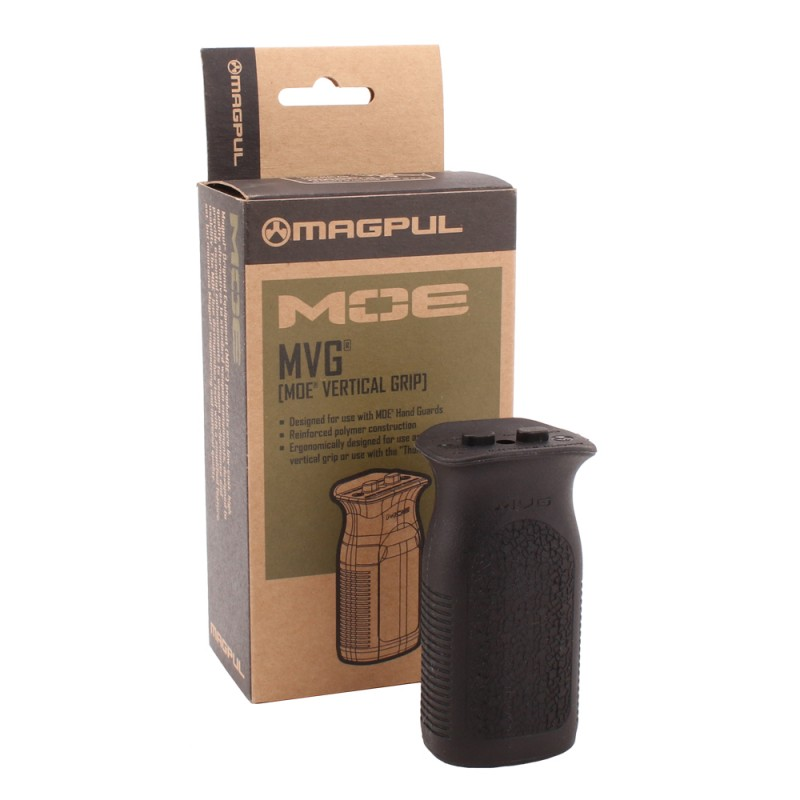 MAG413-BLK Magpul MOE MVG Vertical Grip - Black