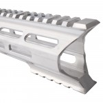 "AR-15 M-Lok 15"" Super Slim Light Free Float Handguard ""C"" Cut - RAW (Made In USA)"