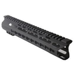 "AR-15 10"" Custom Made In USA  Slim Keymod Handguard - C Cut (MADE IN USA)"