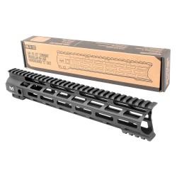 "AR-15 12"" Combat Modular M-Lok Handguard ""C"" Cut - Black"